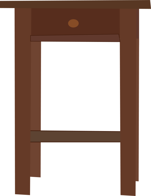 End Table Clipart - Free Clipart: Endtable 3   Rfc1394