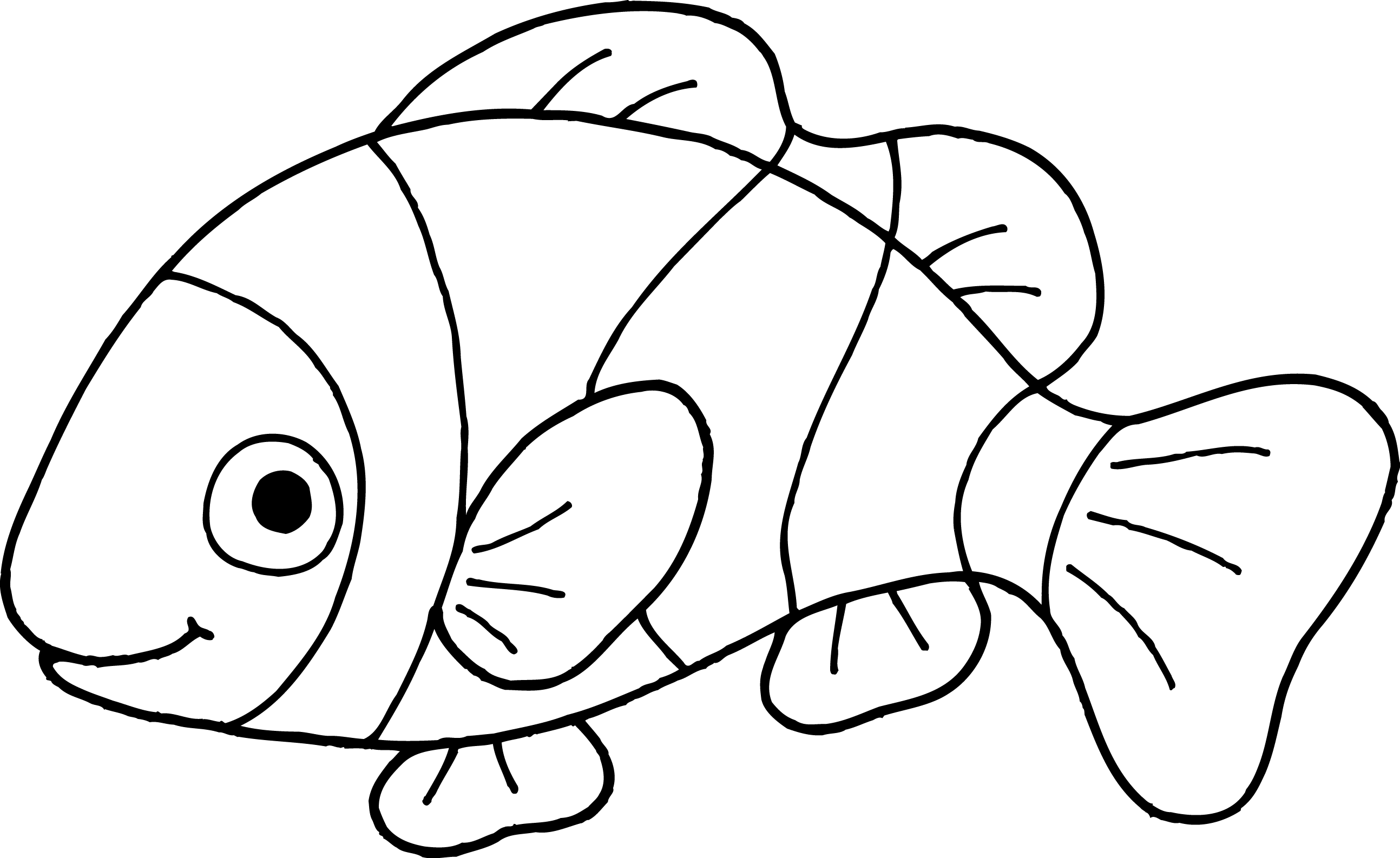 free cute black and white fish in a bowl 456136 png images pngio free cute black and white fish in a