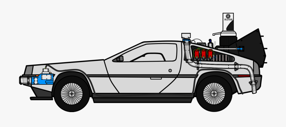 Time Machine Png - Free Delorean Clipart Download Free Clip Art Png Delorean ...