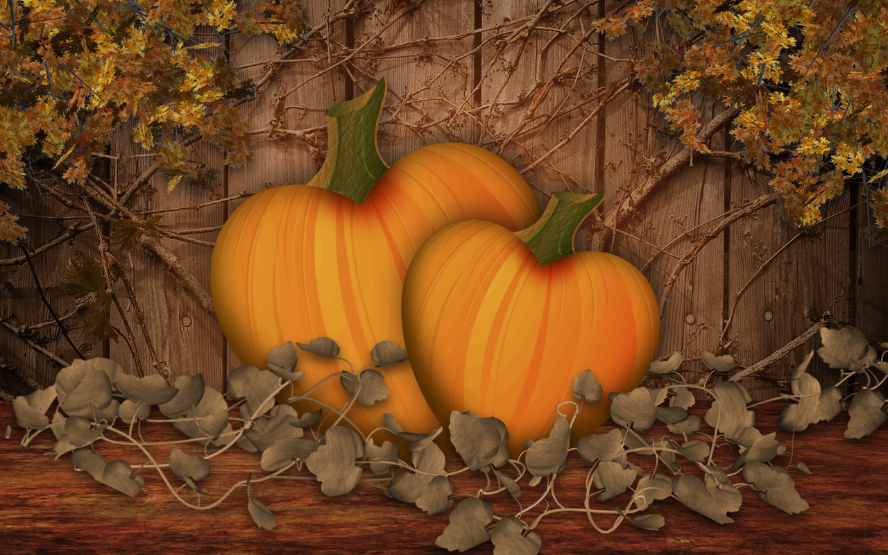 free download fall scenes wallpaper with pumpkins desktop png autumn scenes 1280 800