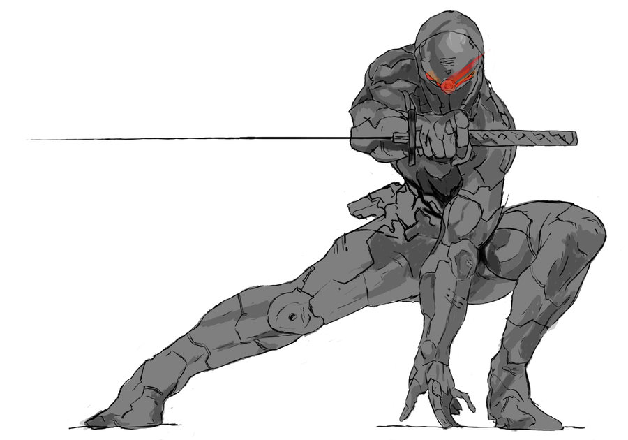 Metal Gear Gray Fo Png - Free download Grey Fox by Metal Gear Snake [900x630] for your ...