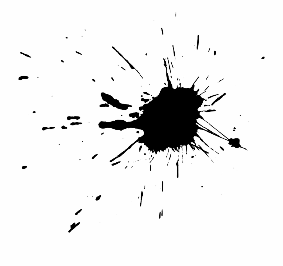 Transparent Paint Splatter - Free Download - Transparent Black Paint Splatter Free PNG Images ...