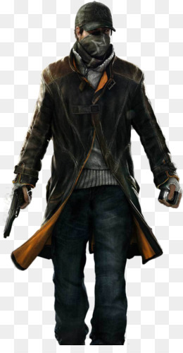 Pearce Png - Free download Watch Dogs 2 Aiden Pearce Coat Leather - Watch Dogs png.