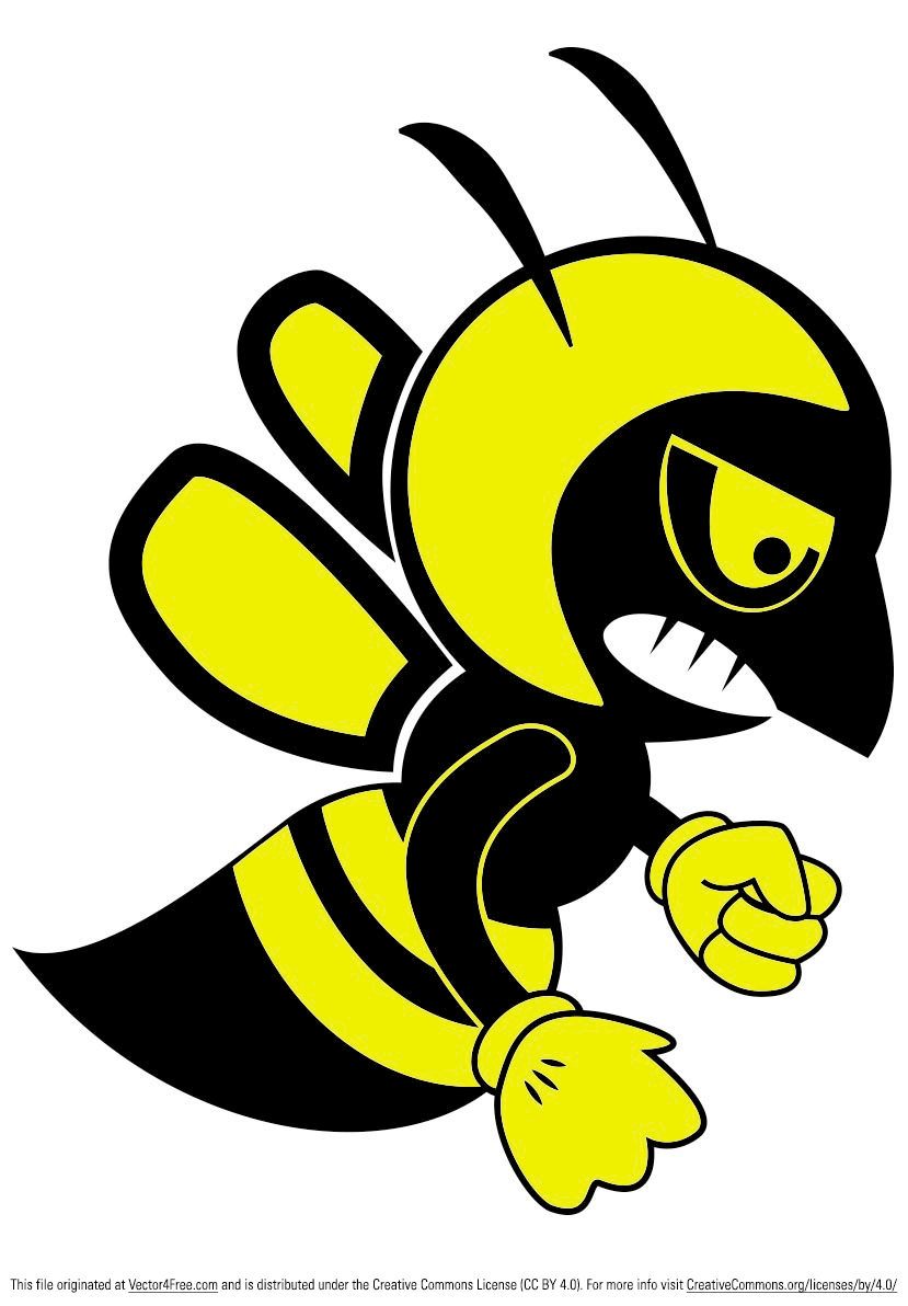 Free Fighting Bee Vector #101578 - PNG Images - PNGio