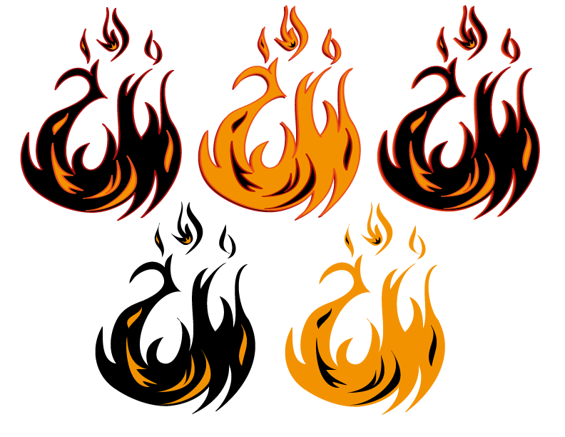 Tribal Flame Png Free - Free Fire Tribal Tattoos, Download Free Clip Art, Free Clip Art on ...