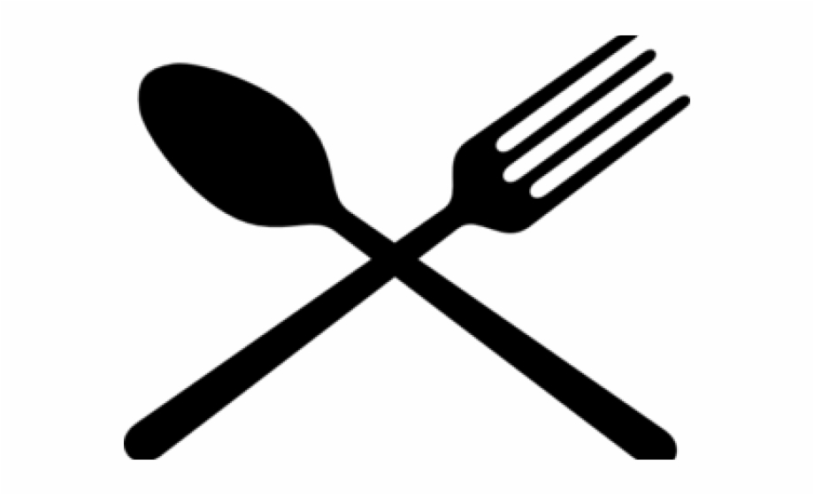 Crossed Fork And Spoon Png - Free Fork And Spoon Silhouette, Download #1565612 - PNG Images - PNGio