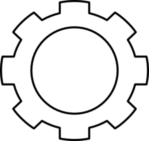 Gear Png Black And White - Free Gear Cliparts, Download Free Clip Art, Free Clip Art on ...
