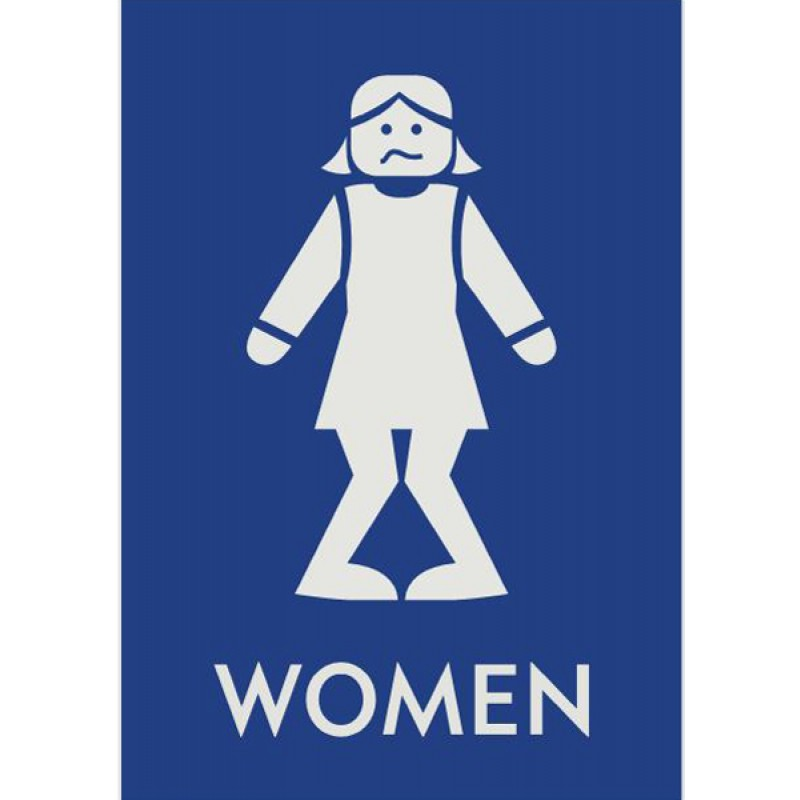 Free Girls Bathroom Sign Download Free 311416 Png Images Pngio