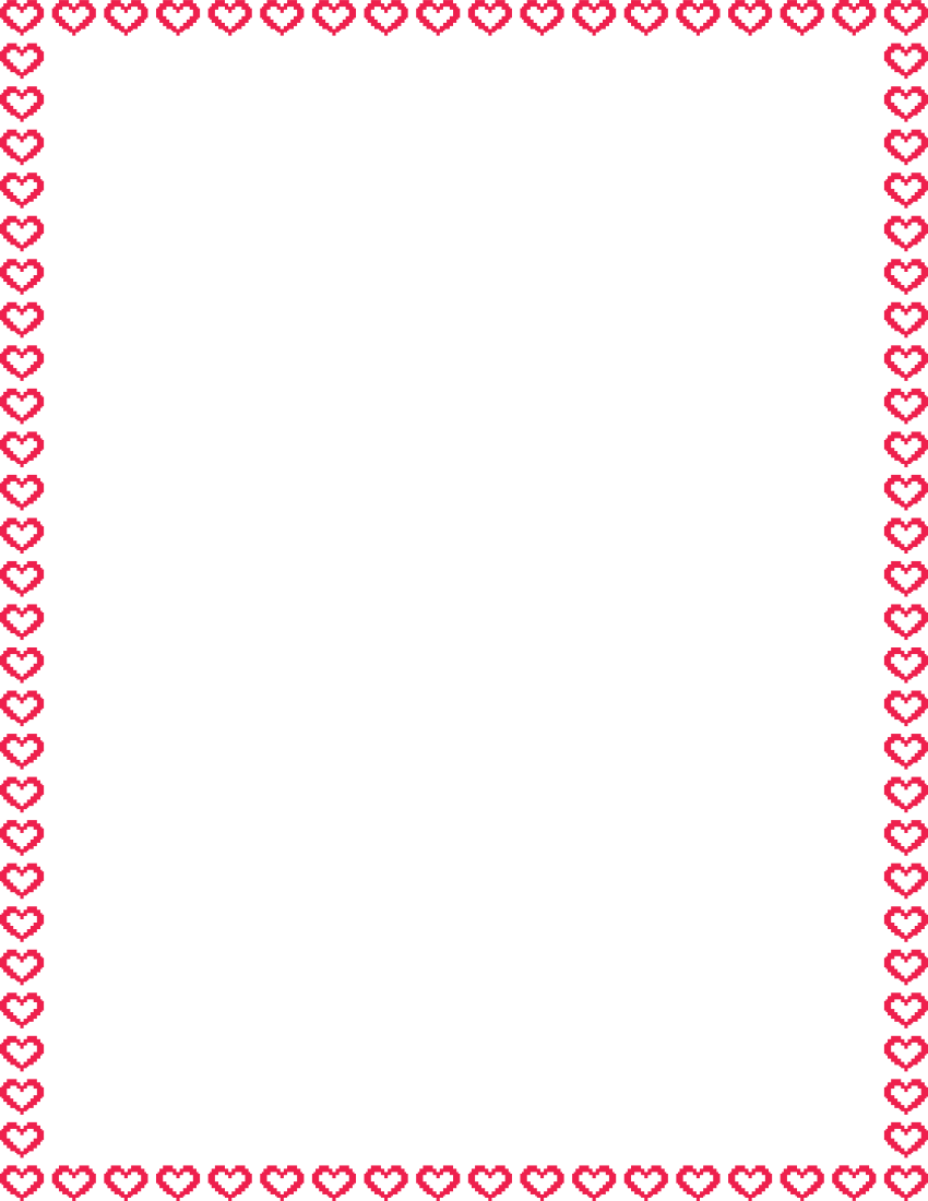 Heart Page Border Png - Free Heart Border Png, Download Free Clip Art, Free Clip Art on ...