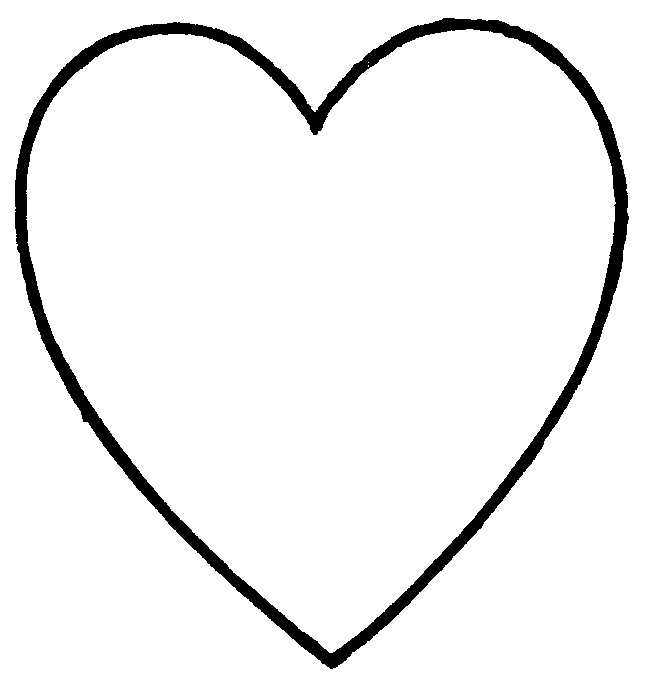 It's just a photo of Printable Hearts with paper