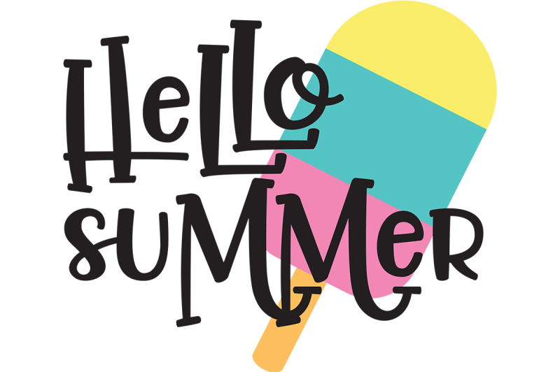 Hello Summer Png - Free Hello Summer SVG Crafter File - New Free SVG Cut Files