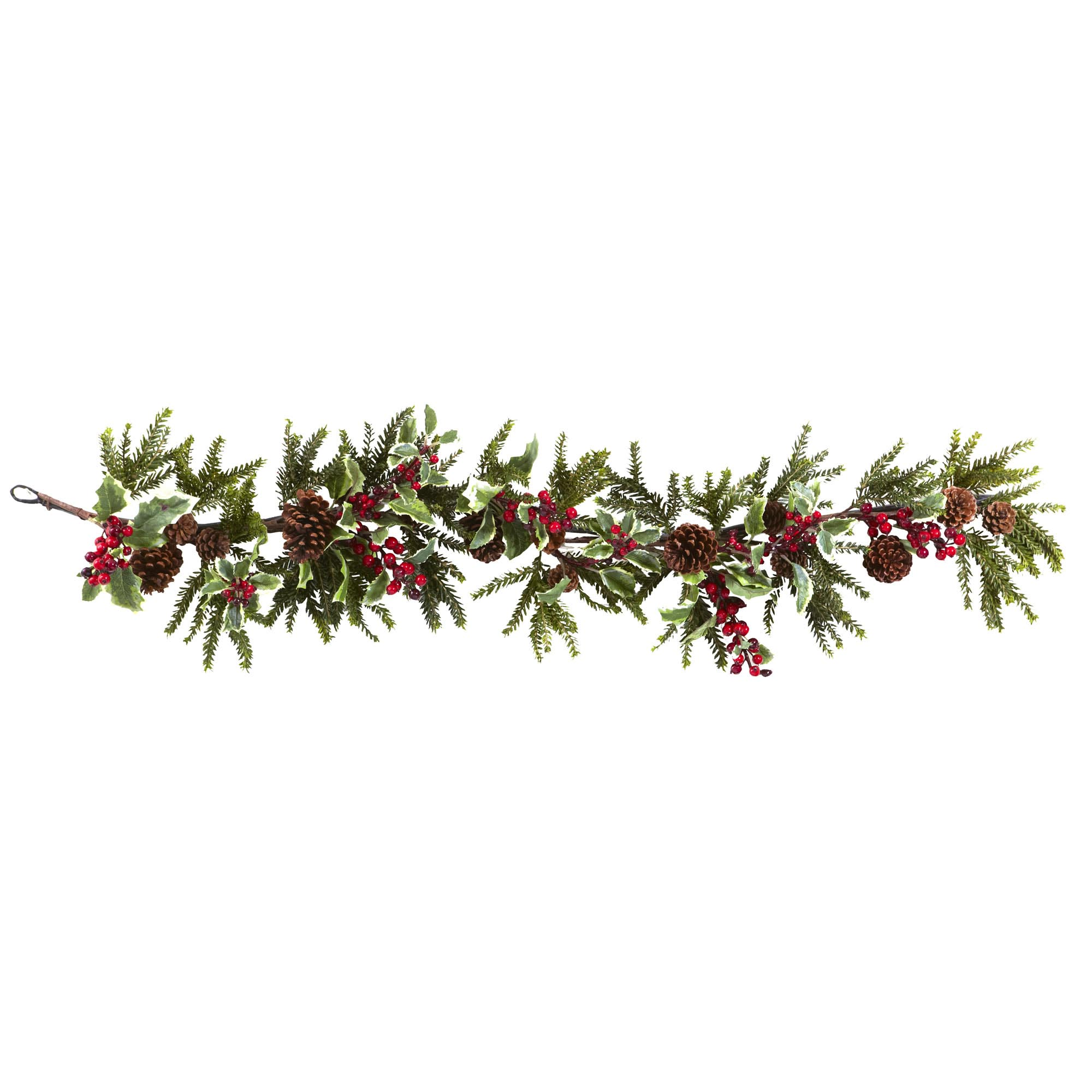 Holly Garland Png - Free Holly Garland Png, Download Free Clip Art, Free Clip Art on ...