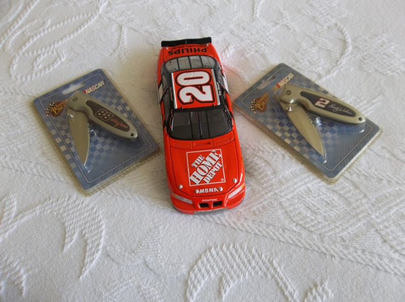Nascar Home Depotrace Car Png - Free: Home Depot NASCAR # 20 and 2 NASCAR collectors knives ...