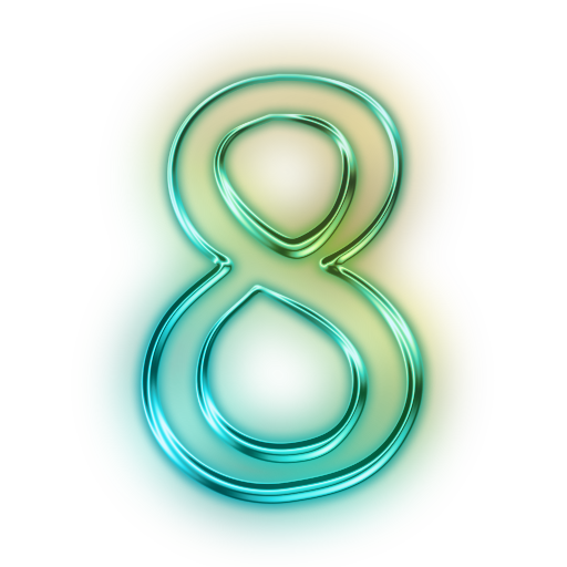 Free Icons Png: Number 8 Icons No Attrib #25709 - PNG Images - PNGio