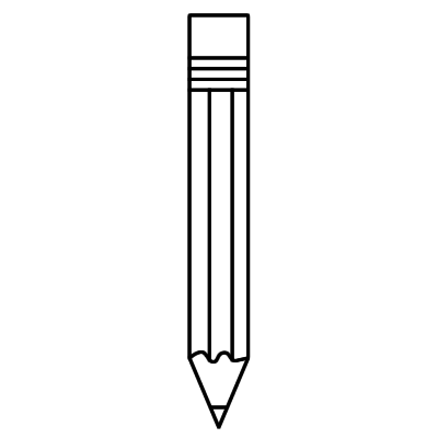 free png image of pencil with no eraser black and white free image of pencil with no eraser black and white png transparent images 21371 pngio eraser black and white png transparent