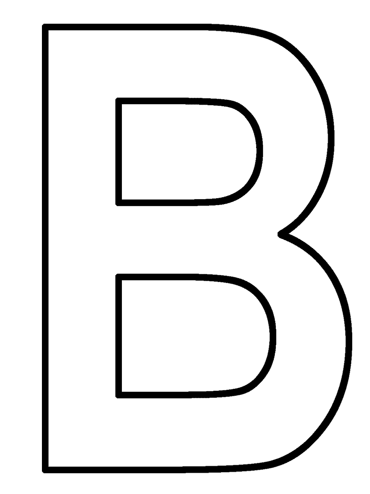 Letter B Png Black And White - Free Letter B Clipart, Download Free Clip Art, Free Clip Art on ...