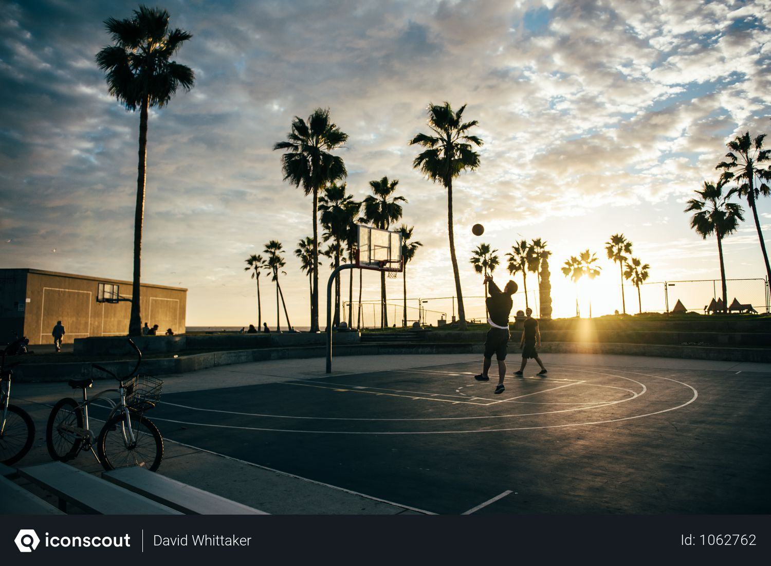 Beach Basketball Png - Free Man Playing Basketball Court Near Beach Photo download in ...