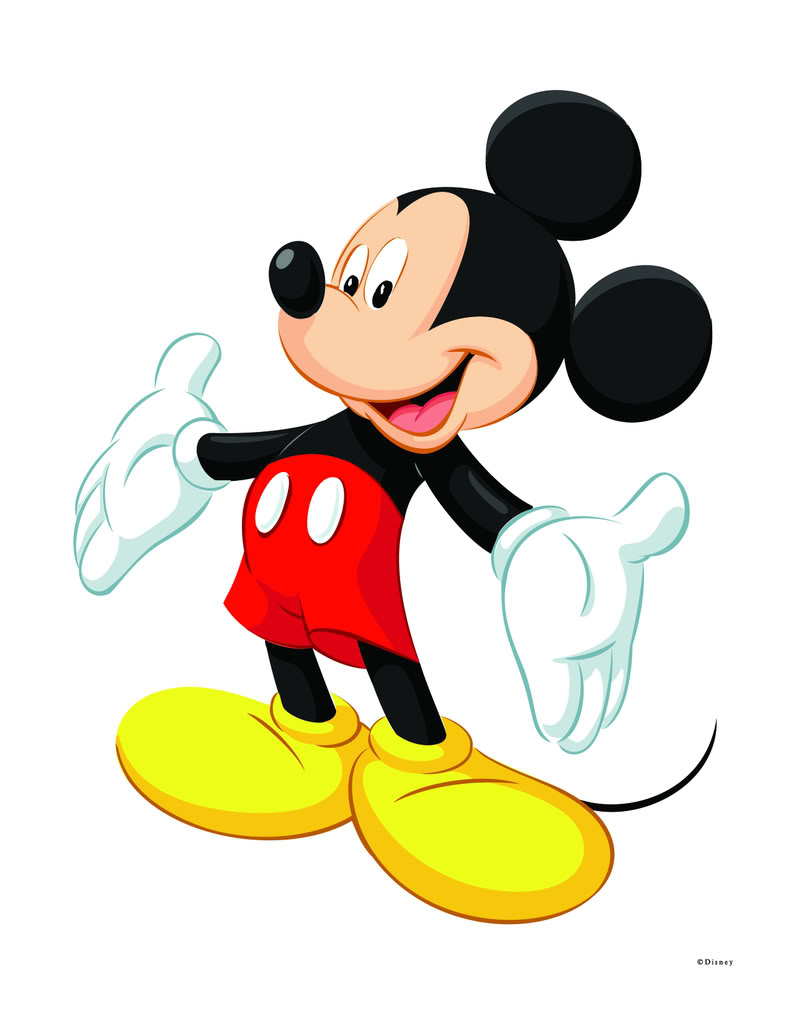 Mickey Clipart - Free mickey mouse clipart image 6 clip art - Clipartix