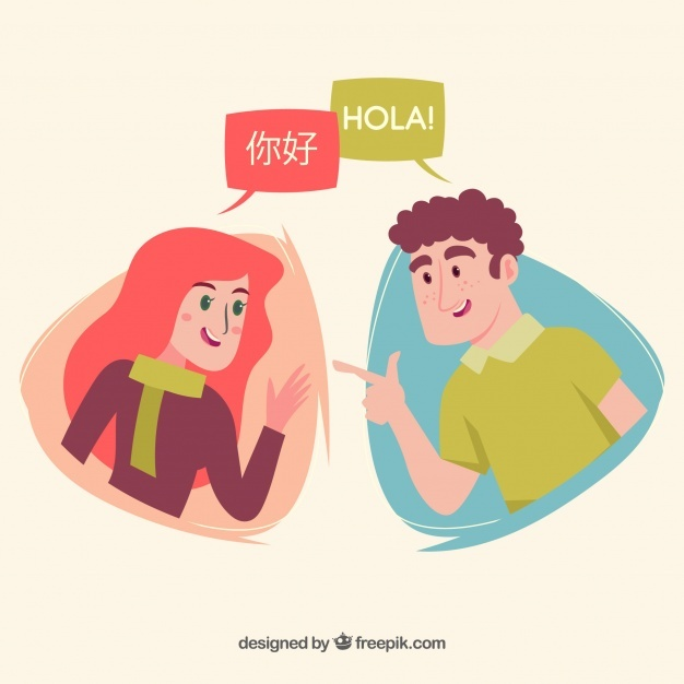 People Speaking Different Languages Png - Free People speaking different languages with flat design SVG DXF ...