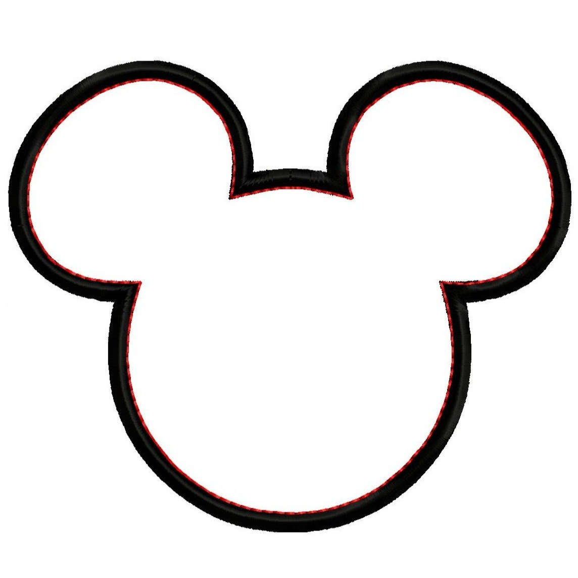It's just a graphic of Mickey Mouse Head Printable Cutouts pertaining to decoration