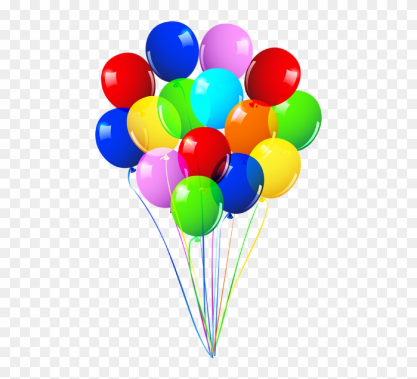 Happy Birthday Ballons Png - Free Png Download Bunch Of Balloons Png Images Background - Happy ...