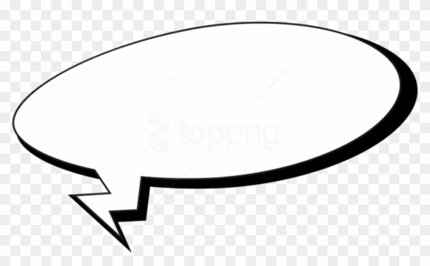 Speech Bubble Png Transparent - Free Png Download Comics Speech Bubble Clipart Png - Comic Speech ...