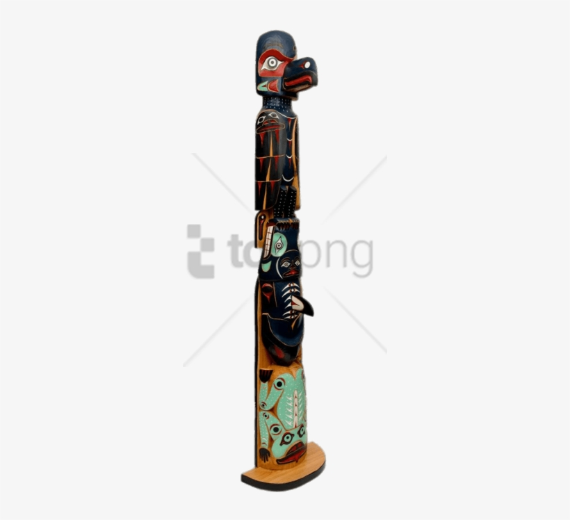 Totem Raven Png - Free Png Killer Whale And Raven Totem Pole Png Image - Totems ...