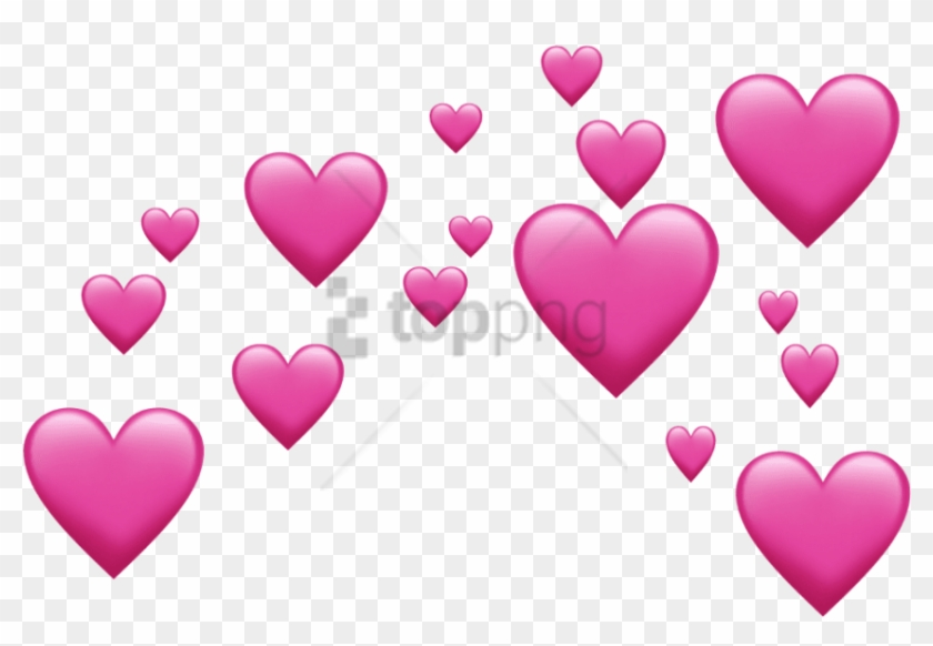 Heart Png Emoji - Free Png Pink Emoji Hearts Png Image With Transparent - Many Heart ...