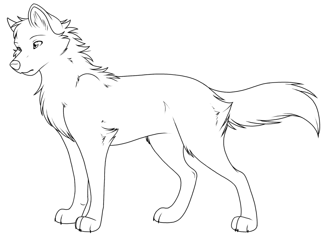 Free Printable Wolf Coloring Pages For Kids 18   PNG Images ...