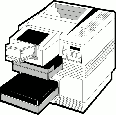 Animated Printer Png - Free Printers Clipart Free Clipart Image Graphics Animated - Clip ...