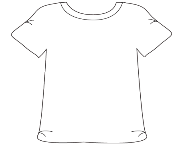 Printable Tshirt Template Png - Free T Shirt Template Printable, Download Free Clip Art, Free Clip ...