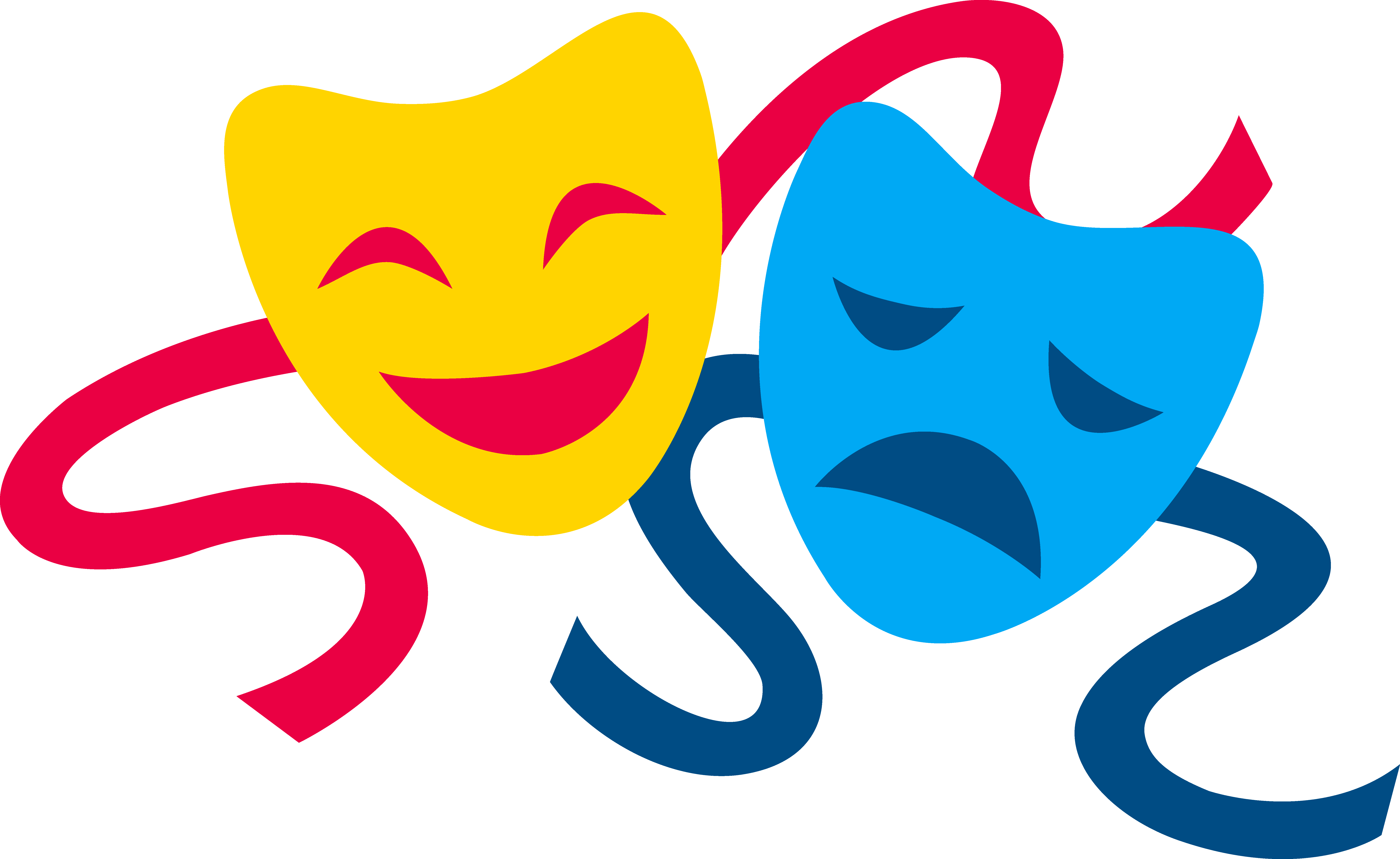 Drama Mask Png - Free Theater Masks, Download Free Clip Art, Free Clip Art on ...