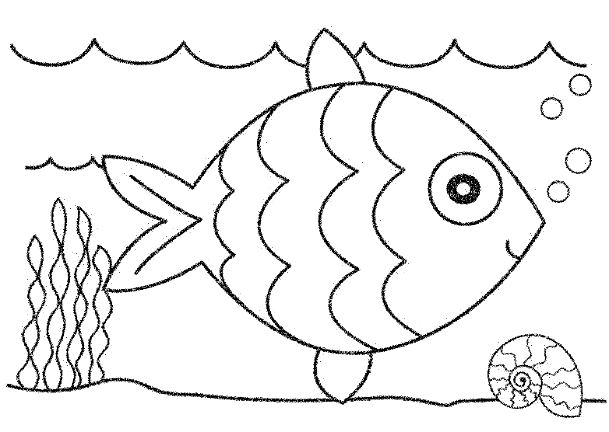 Free Printable Ocean Coloring Pages For Kids | 1420x2000