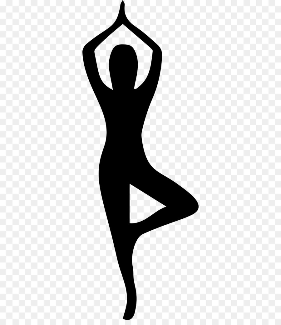 Free Yoga Tree Pose Silhouette Download 2624232 Png Images Pngio