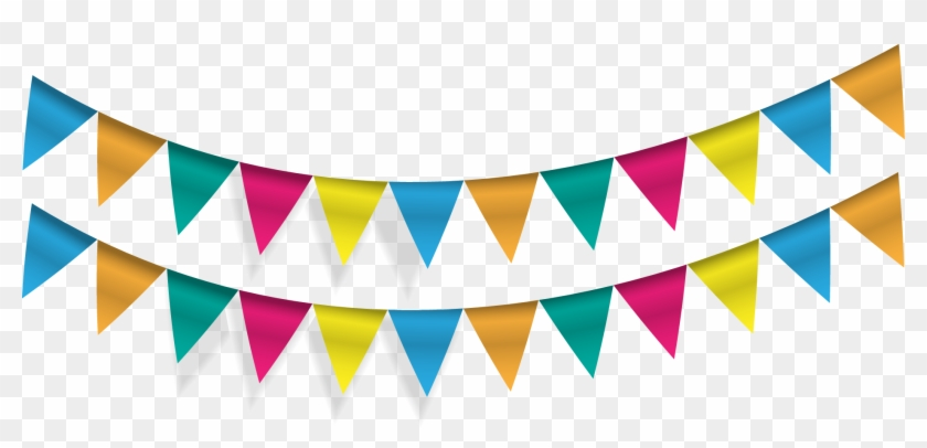 Triangle Banner Png - Freeuse Download Pennon Flag Banner Party Triangle - Cinco De Mayo ...