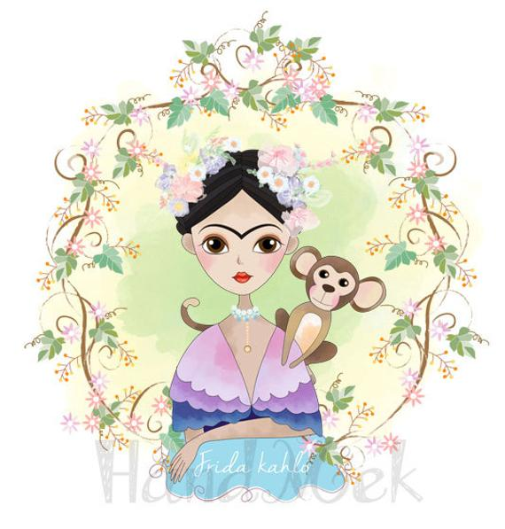 Frida Kahlo Png - Frida kahlo Clipart Instant Download PNG JPEG file 300 dpi | PNGio