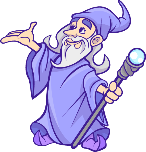 Friendly Wizard Png - Friendly Wizard Clipart & Clip Art Images #9253 - clipartimage.com