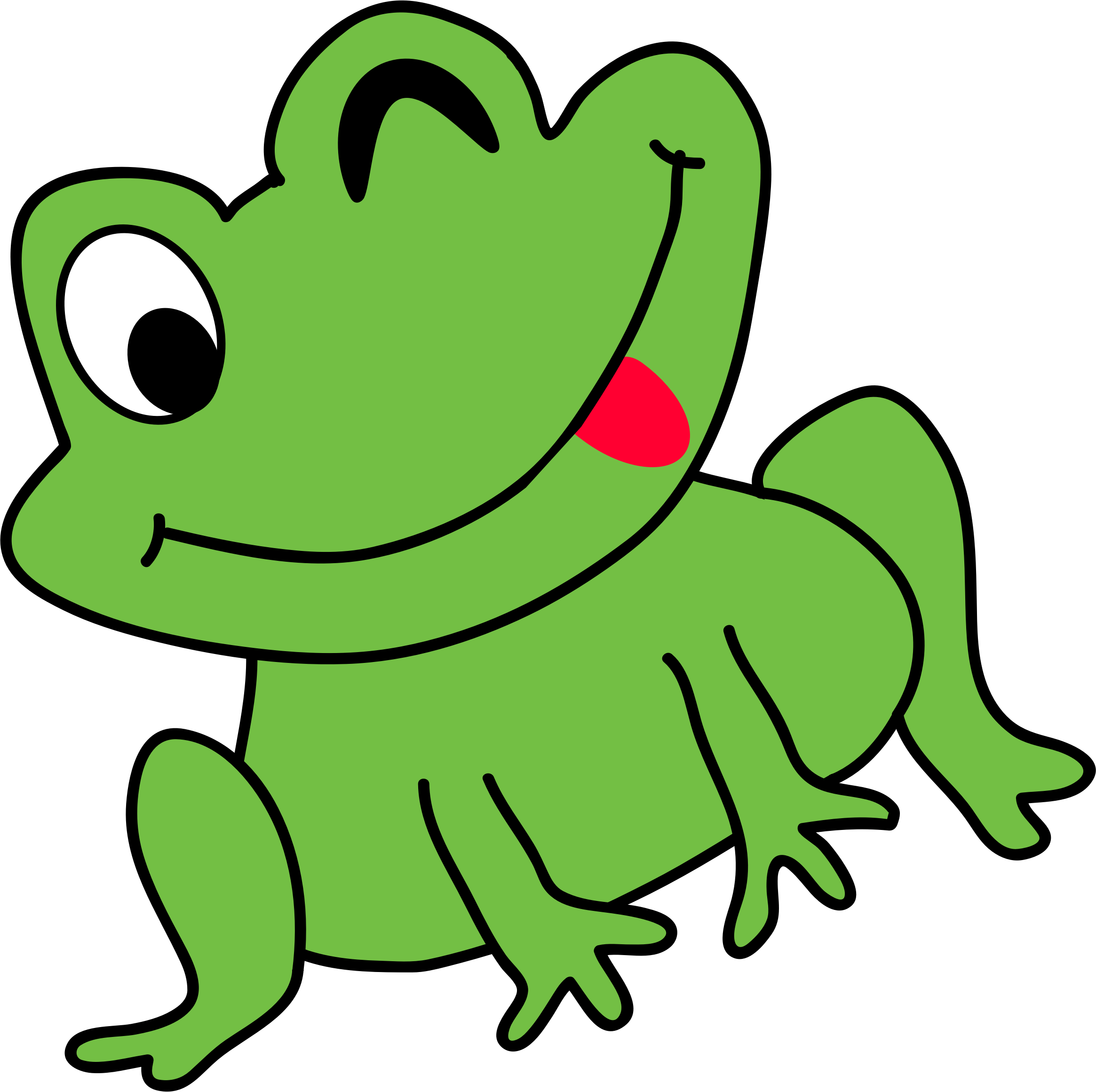 Animated Frog Png & Free Animated Frog.png Transparent ...