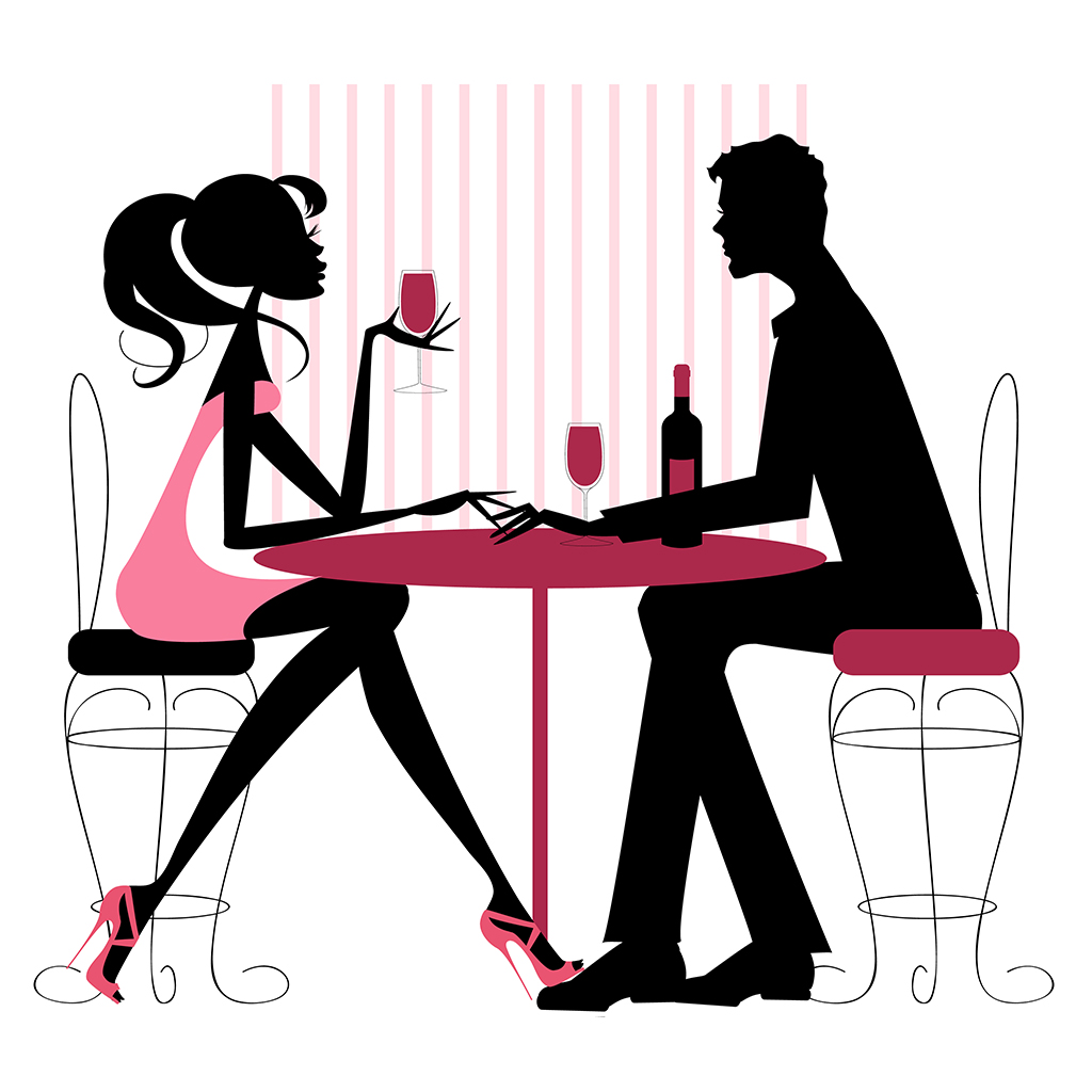 Dinner Date Png - FROM HOPELESS ZERO TO WINE HERO: 5 TIPS FOR ORDERING WINE ON A ...