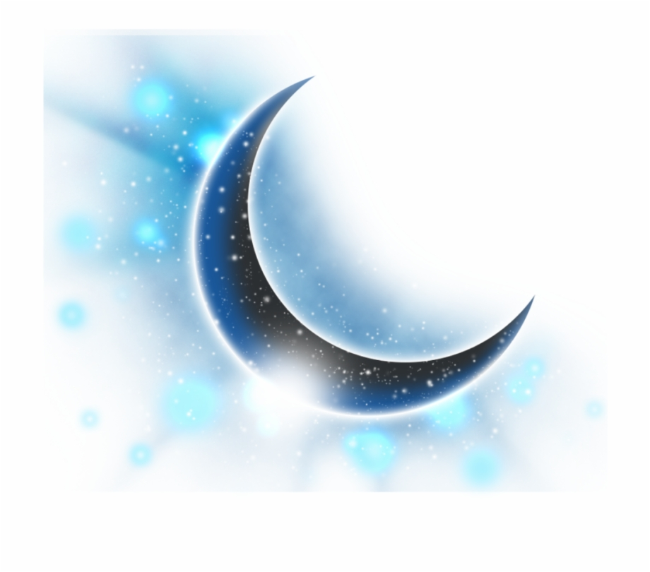 Crescent Moon and Star Clipart Free PNG Image|Illustoon