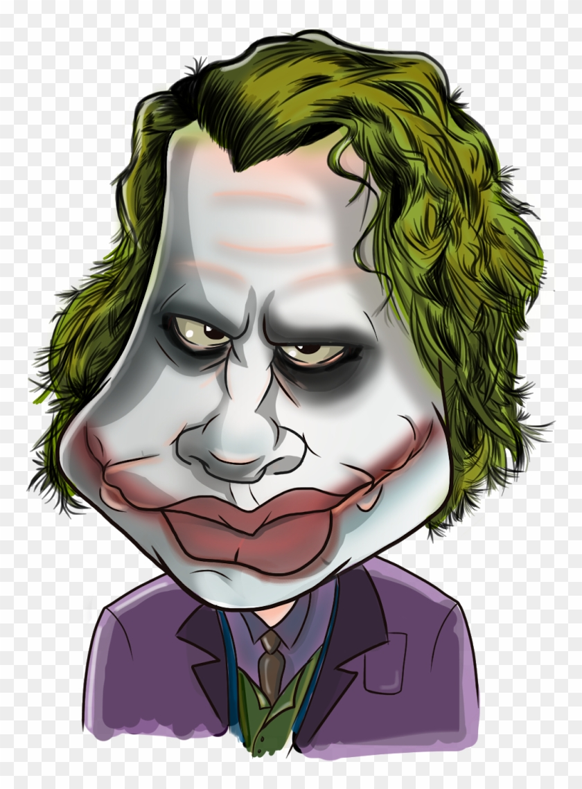 Full Size Of Joker Drawings Cartoon Face 1075301 Png Images Pngio