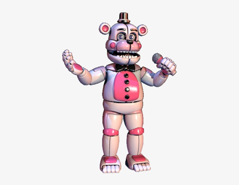 Funtime Freddy Transparent - Funtime Freddy - Five Nights At Freddy's - Free Transparent PNG ...