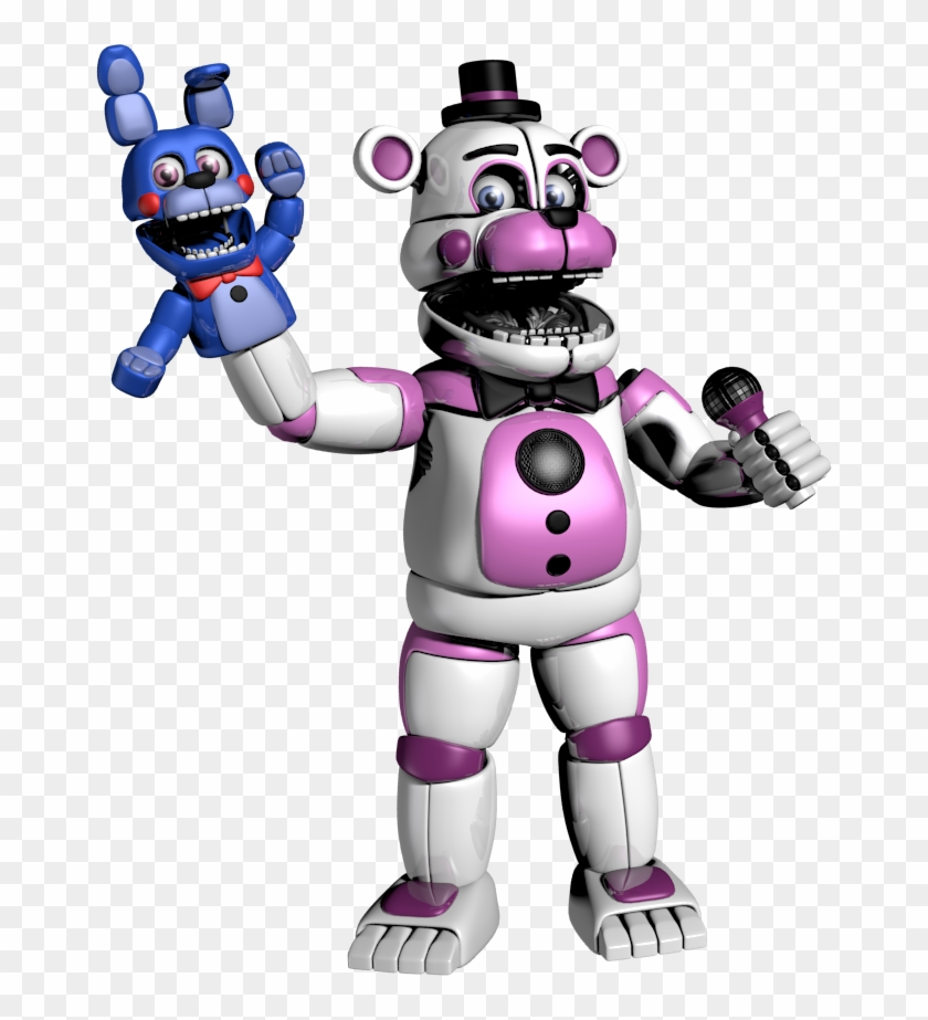 Funtime Freddy Transparent - Funtime Freddy Png, Transparent Png - 666x843(#1578288) - PngFind