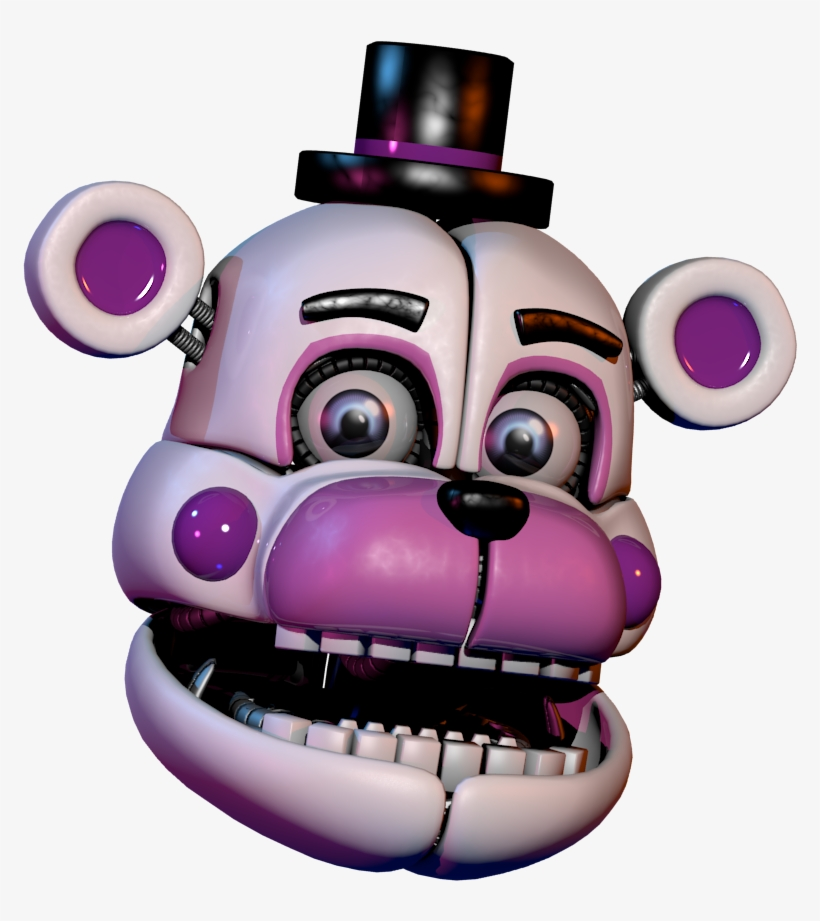 Funtime Freddy Transparent - Funtime Freddy V - Five Nights At Freddy's Sister Location Funtime ...