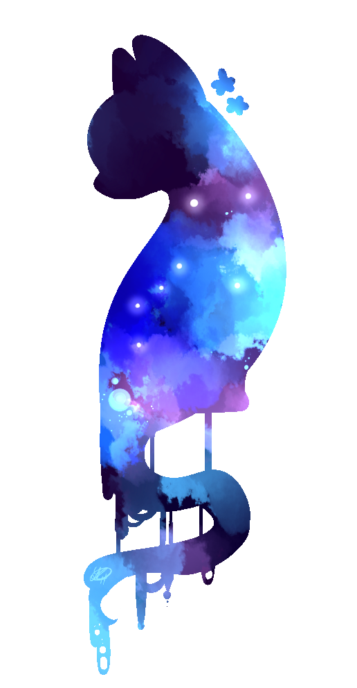 Galaxy Cat Png - galaxy cat by ShadowAphelion on DeviantArt