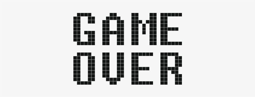 Game Over Game Over En Png Free Tran 522362 Png