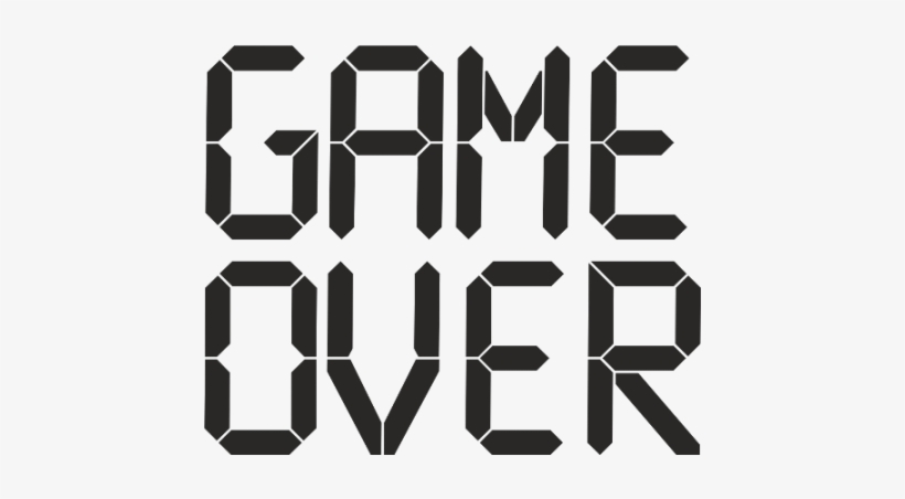 Game Over Png Design Ppt Backgrounds Tra 719457 Png