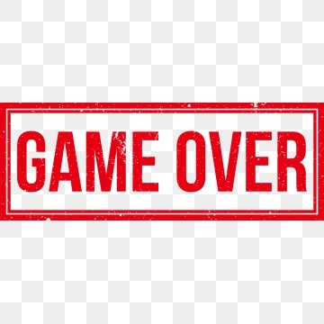 Game Over Png Free Game Over Png Transparent Images 30650 Pngio