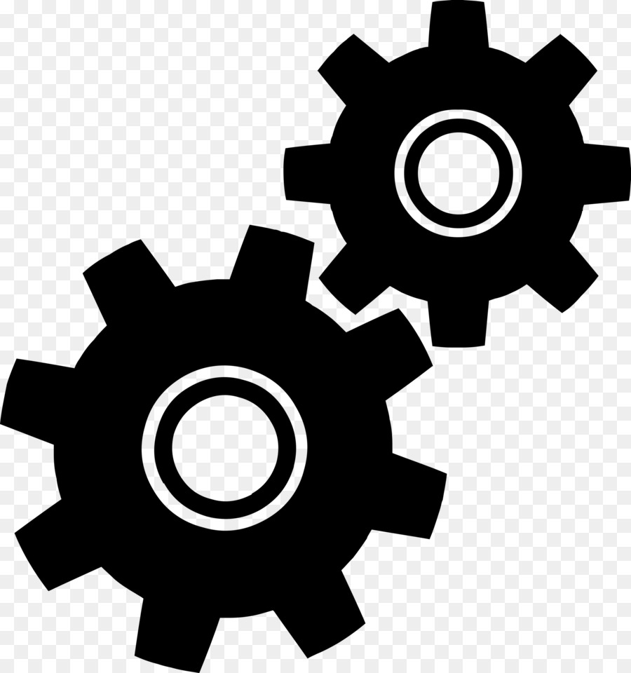 Gear Png Black And White - Gear Computer Icons Clip art - viking png download - 2250*2400 ...