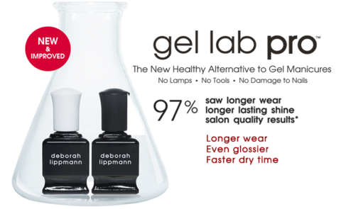 Nail Lab Manicure Courses Png - Gel Lab Pro base and top coat system - Deborah Lippmann